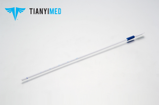 Disposable endometrial Suction curettage tube