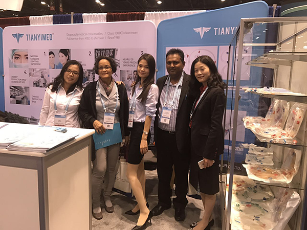 Tianyi Medical attended the 50th Annual Meeting of American Society of Nephrology (ASN 2016) in Chicago